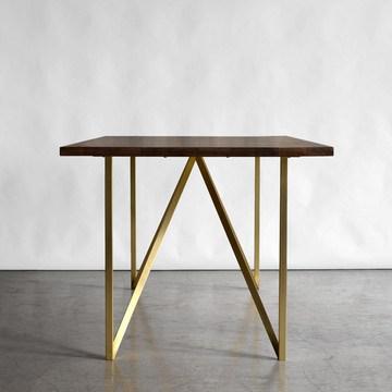 Brass Truss Table